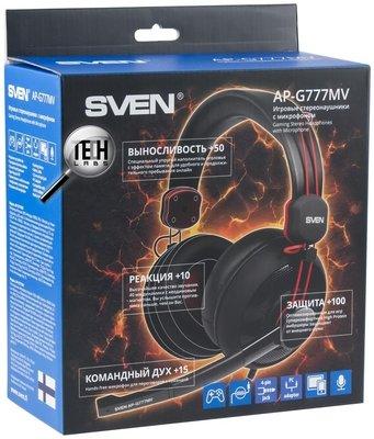 Игровые наушники с микрофоном SVEN AP-G777MV