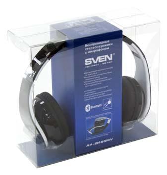 Беспроводные наушники с микрофоном SVEN AP-B450MV