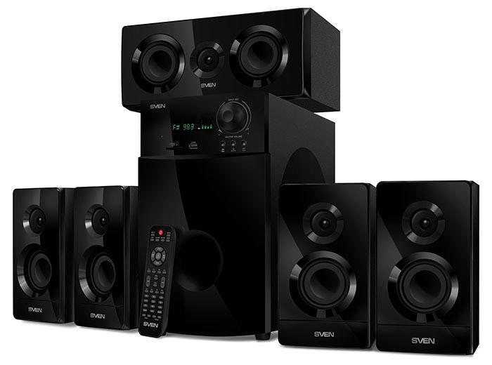 Мультимедийная акустика 5.1 SVEN HT-210